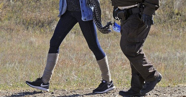 The Latest: North Dakota: School at protest site is illegal