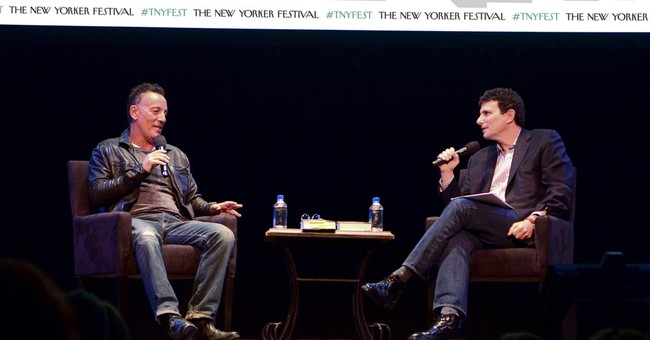 Springsteen and others focus on election at New Yorker fest