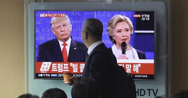 Analysis: Backed in a corner, Trump clawed through debate