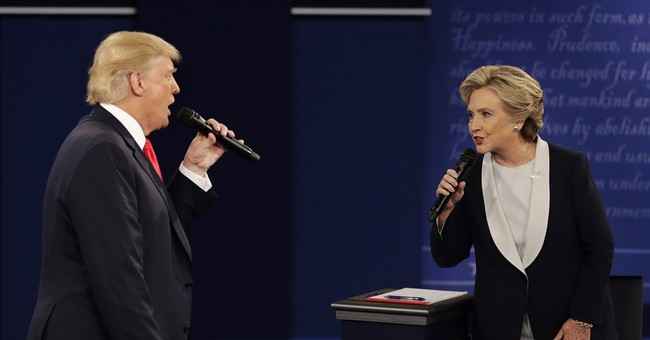 Trump's 'you'd be in jail' debate jab at Clinton condemned