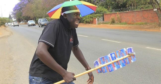 Zimbabwe's street vendors turn on the style to win customers