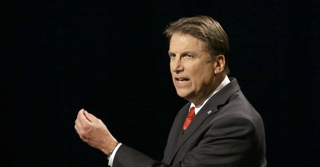 The Latest: LGBT rights law focus in NC governor's debate