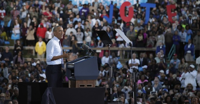 Obama takes issue with Trump and his supporters in Congress