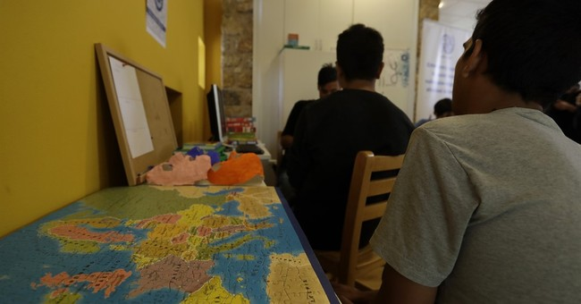 The Latest: Greece opens center for unaccompanied minors