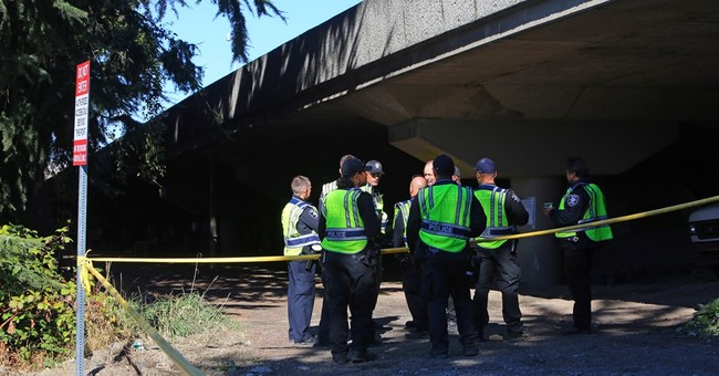 Man fatally shot by officer near homeless camp cleanup