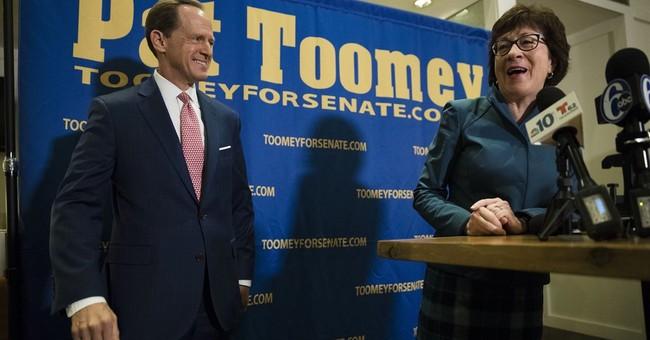 GOP senator seeks distance from Trump in re-election bid