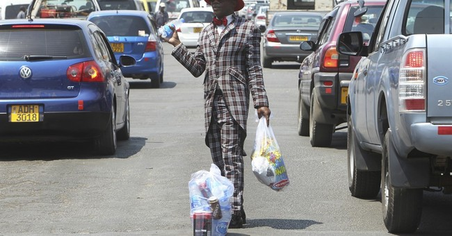 Zimbabwe's street vendors turn on the style to win customers