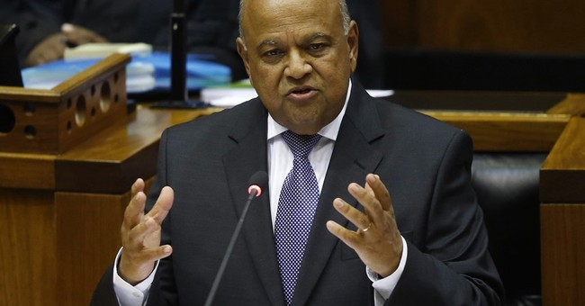South Africa's finance minister to face fraud charge