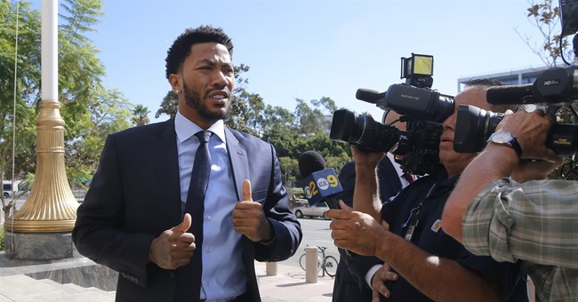 Derrick Rose says he suspected 'rape' setup soon after act