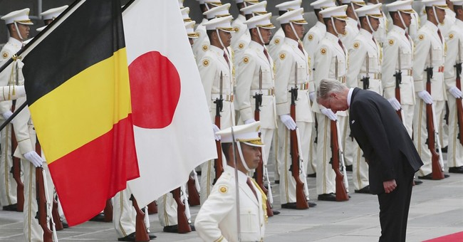 Belgian King Philippe and Queen Mathilde visiting Japan