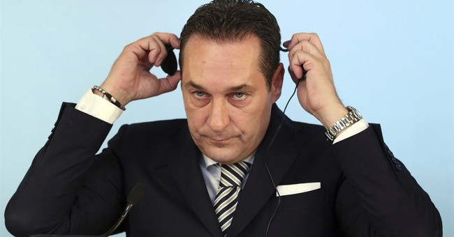 Austrian party leader wrote foreword to book he didn't read