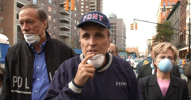 Giuliani admits he was wrong about Clinton and 9/11