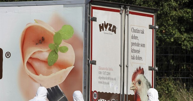 Hungary: 8 suspects held for deaths of 71 migrants in truck