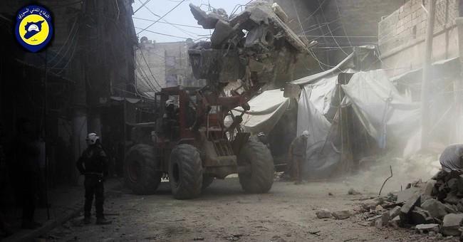 Airstrike hits market in Syria's Aleppo, killing 15