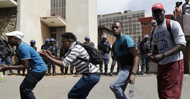 Priest is among casualties in South African student protests