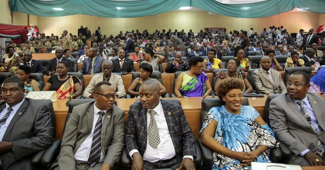 Burundi lawmakers vote to withdraw from ICC; would be 1st