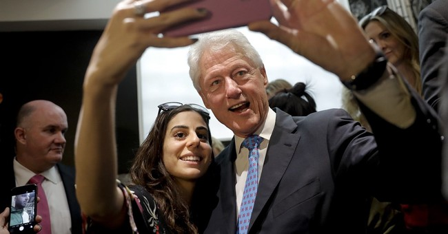 Young voters not swayed by Bill Clinton's history
