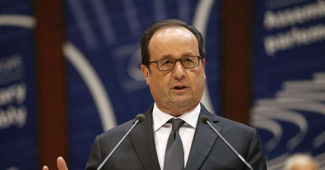 France's Hollande to say in December if he's running again