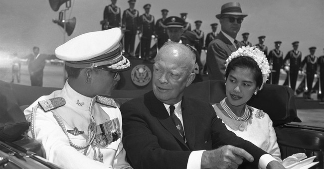 Thai king Bhumibol was bridge in close relations with US