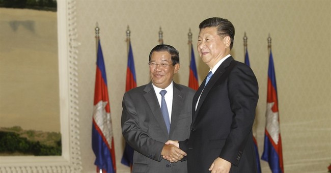 China forgives $90 million debt owned by Cambodia
