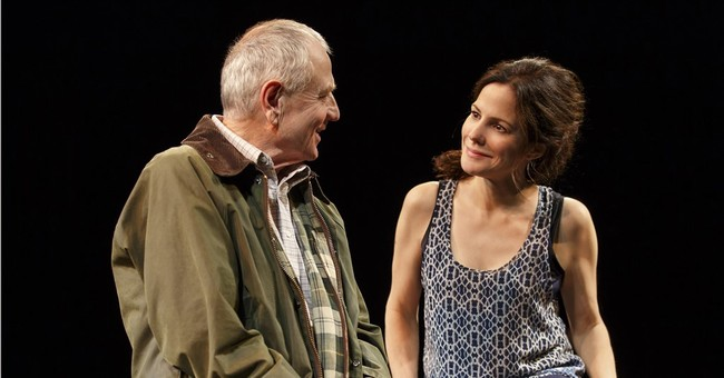 Review: Broadway's bare play 'Heisenberg' is sumptuous