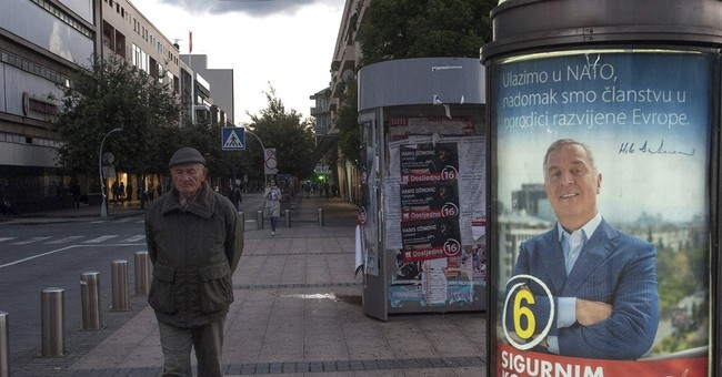 Russia, the West clash in tiny Montenegro election