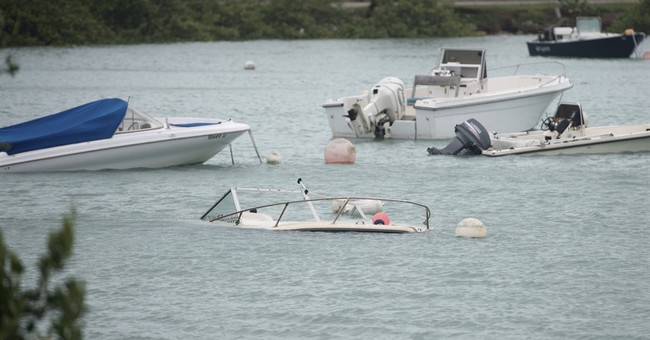 Hurricane Nicole pummels Bermuda with wind, then spins away