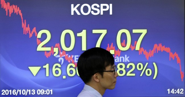 Global stocks fall after disappointing China data