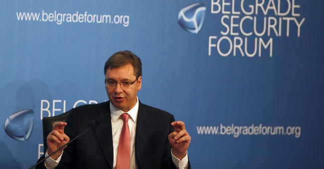 Serbia prime minister warns support for EU crumbling