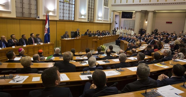 Croatia's new Parliament convenes, elects new speaker