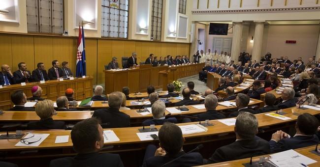 Croatia's new Parliament convenes, elects new speaker