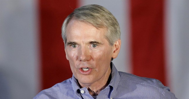 The Latest: Portman calls Trump groping video final straw
