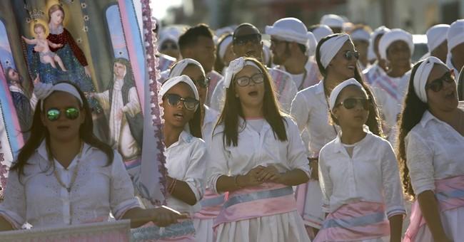 AP PHOTOS: Brazil 'Congada' mixes African, Christian roots