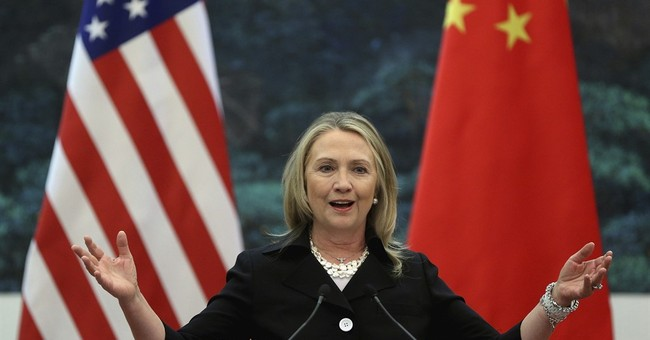 Clinton said US would 'ring China with missile defense'