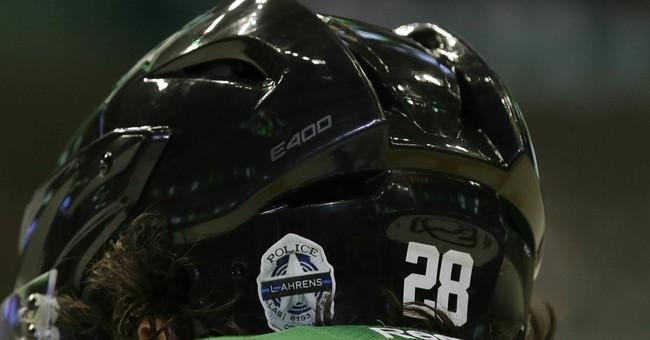 Stars honor slain Dallas officers before, during NHL opener