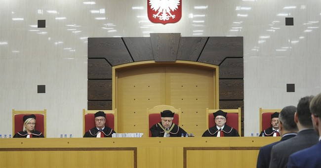 Polish court at heart of conflict marks 30th anniversary
