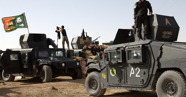 Iraqi special forces arrive outside militant-held Mosul
