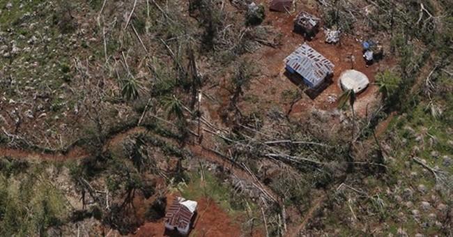 A decade of crop loss from Hurricane Matthew in Haiti