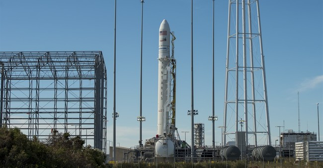 Space station launches back in Virginia, 2 years after blast