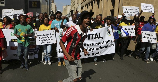 South African university says vice-chancellor was assaulted