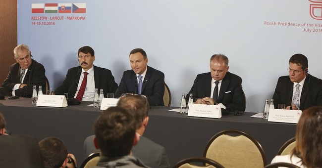Central European nations oppose Russian-German gas pipeline