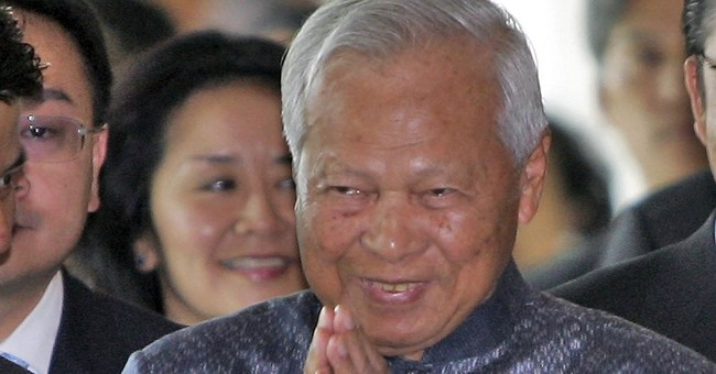 Thai regent is sprightly 96-year-old face of establishment