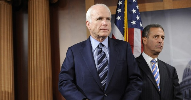 Linked by signature law, McCain and Feingold fight back