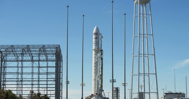 Space station getting 1st delivery from Virginia in 2 years