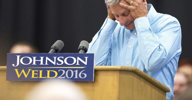 Libertarian's Johnson has never been the typical politician