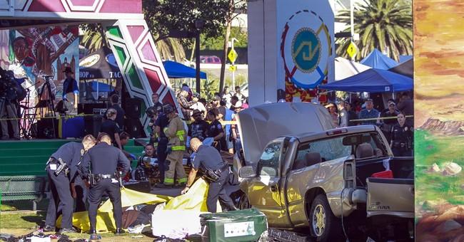 Truck plunges off San Diego bridge into crowd below; 4 dead