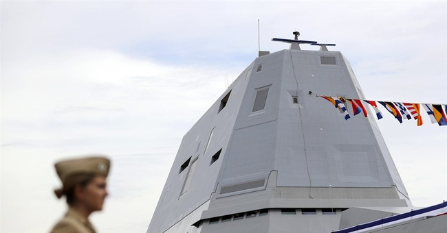 Admiral: If Batman had a ship, it would be Zumwalt