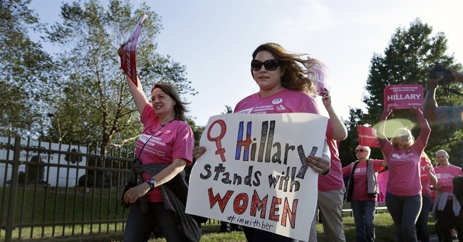 Gender unescapable, in unexpected ways, at campaign's close