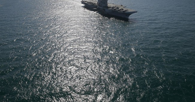 Iran flies unarmed military drone over US aircraft carrier
