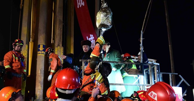 4 Chinese miners rescued after 36 days trapped underground